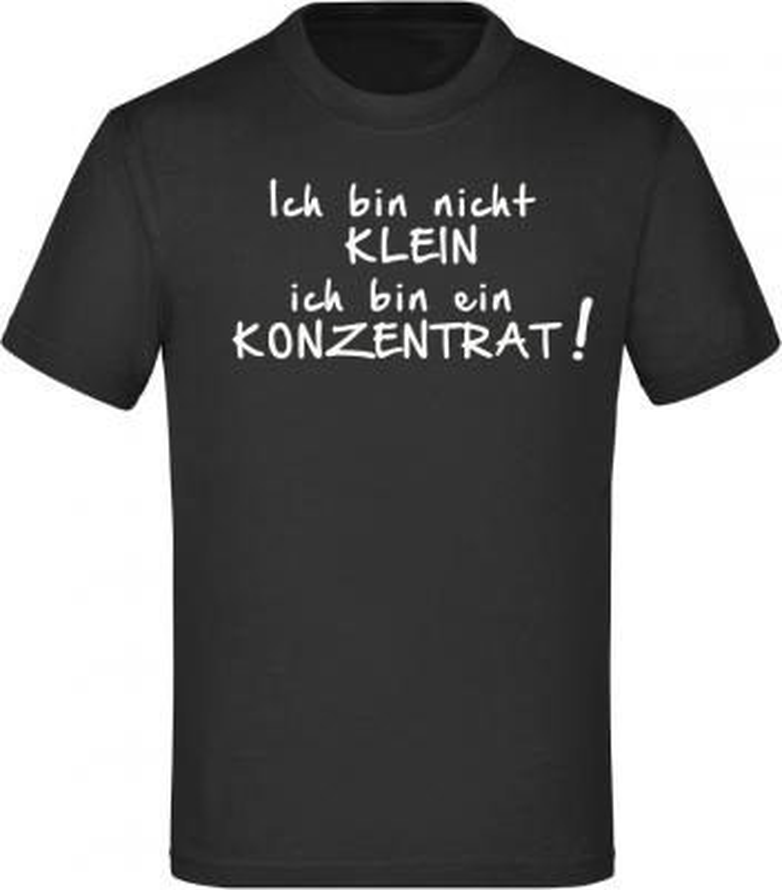Kinder T-Shirt: Ich bin nicht klein...